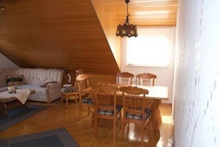 2- Zimmerwohnung - Küche, Tageslichtbad, Balkon