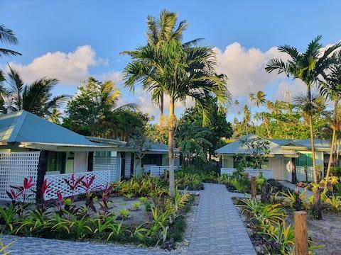 Garden villa located near the beach