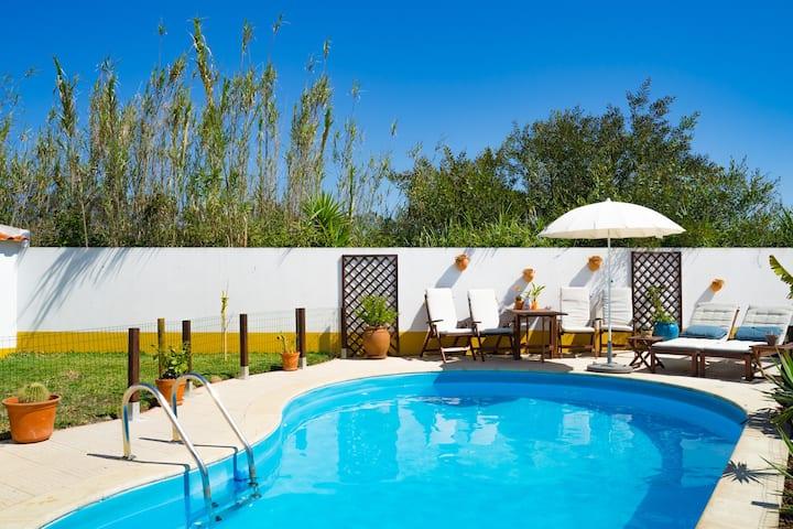 Unique Villa in Milfontes With  Pool & Near Beach