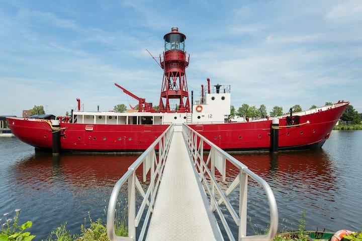 Lightship Amsterdam, the iconic Machinery Space