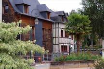 Maison à l'orée du bois pour de belles randonnées