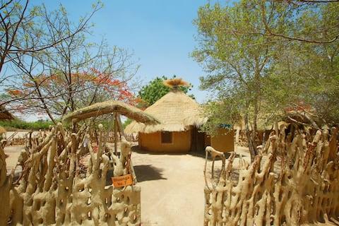 Village hut style 5 star stay