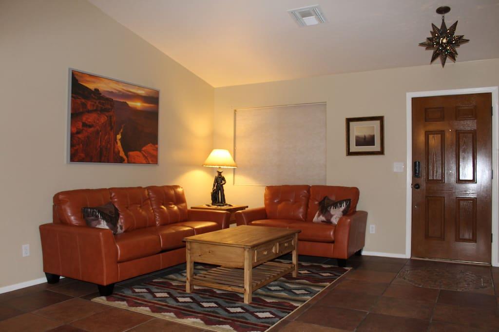 Front entry & Formal Living Room