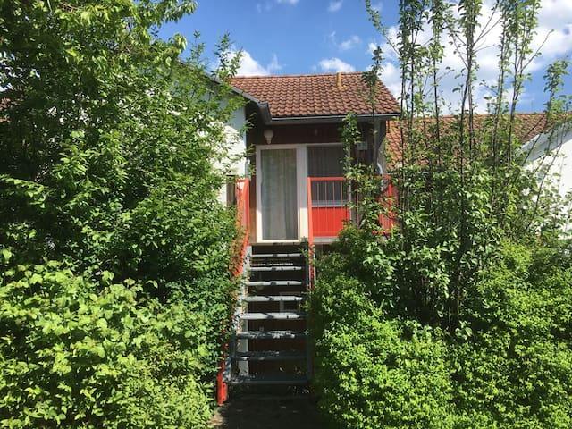 """Ferienhaus- und Appartementanlage """"am Kellerberg"""" (Zandt), Appartement (43 qm) mit Balkon"""