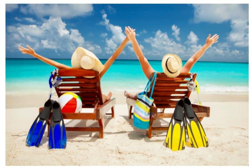 Two Tan Chicks Beach Condo