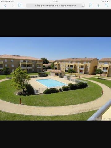 Logement Monteux - Monteux - Apartment