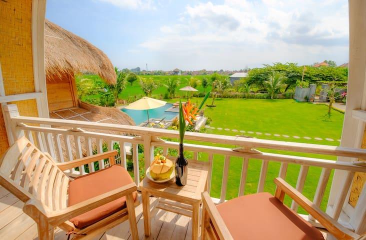 Nakula Canggu Wooden Green Paradise Bungalow