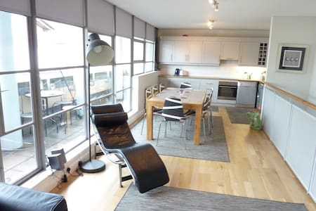 Double Room in Temple Bar Penthouse - Apartment