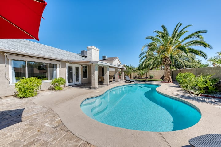 Resort Style home with PRIVATE HEATED POOL