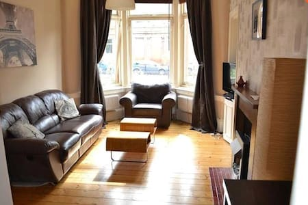 One Bedroom Flat in Perfect Southside Location - Glasgow - Daire