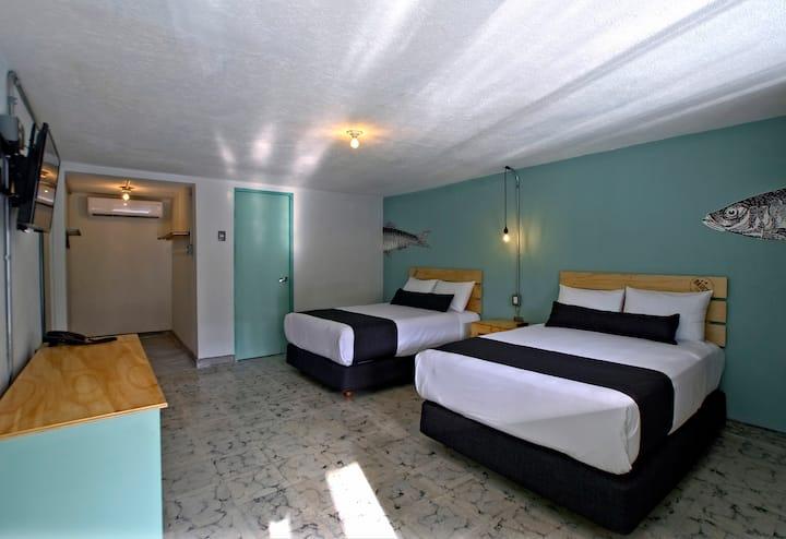 Hotel +Básico con diseño urbano y playero 6
