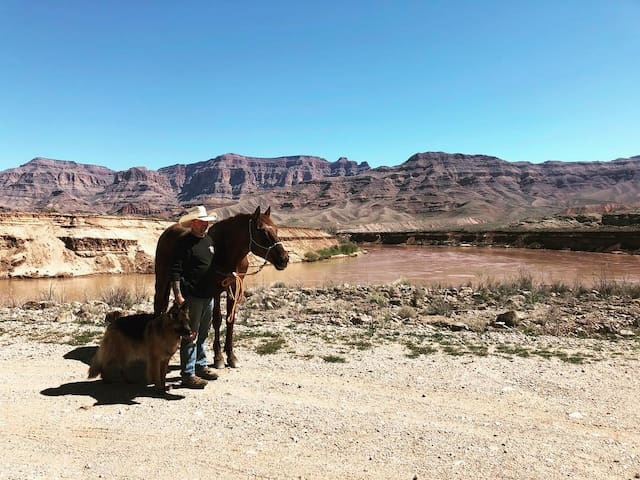 Bring your horses on your adventures! we have Corrals, hitching posts, feed!!