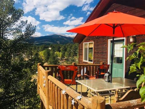 Mt. Rosalie Cabin in Bailey Colorado: 420 Okay.