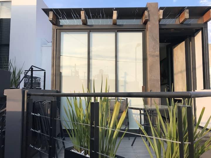 LOFT confort Terraza Cocina Sala 1 a 5 huésped