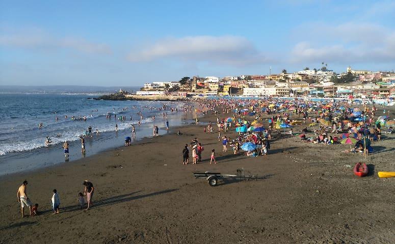 Playa San Sebastian. Cartagena