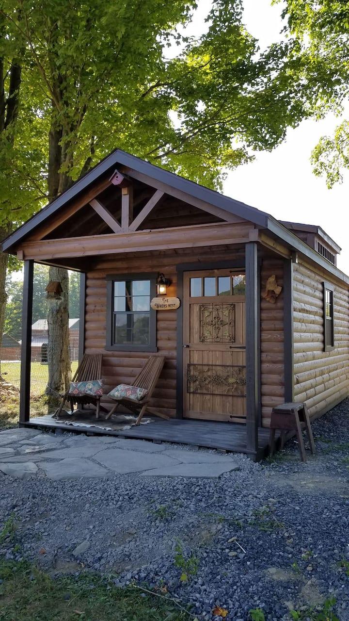 'The Wren's nest', a romantic luxury cabin!