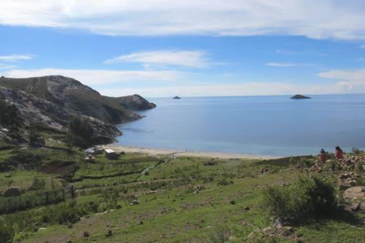Casa de campo Isla del Sol, Lado Norte, 2 personas