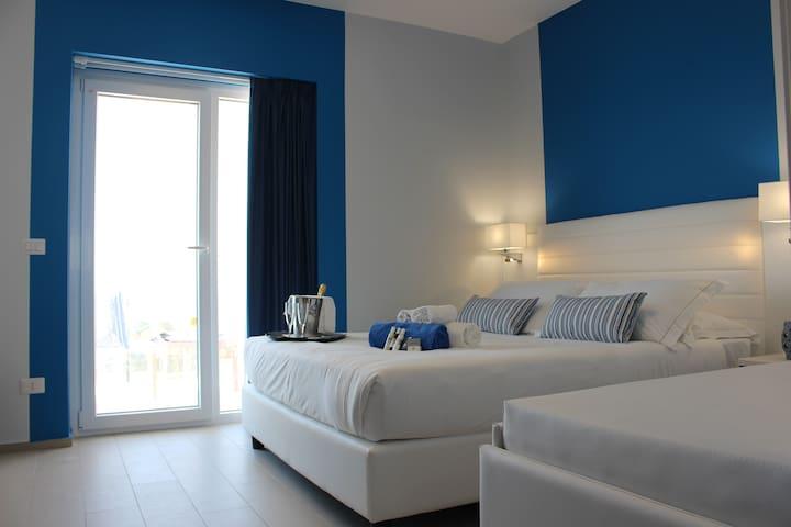 appartamento con vista panoramica sul mare