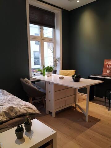 Lekker ettroms på Grunerløkka