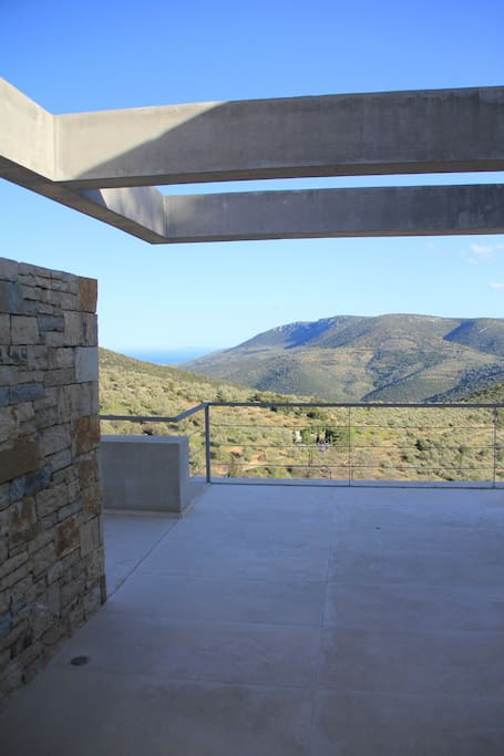 The south orientation of the plot allows for an amazing view to the subtle landscape mixture of mountain & sea