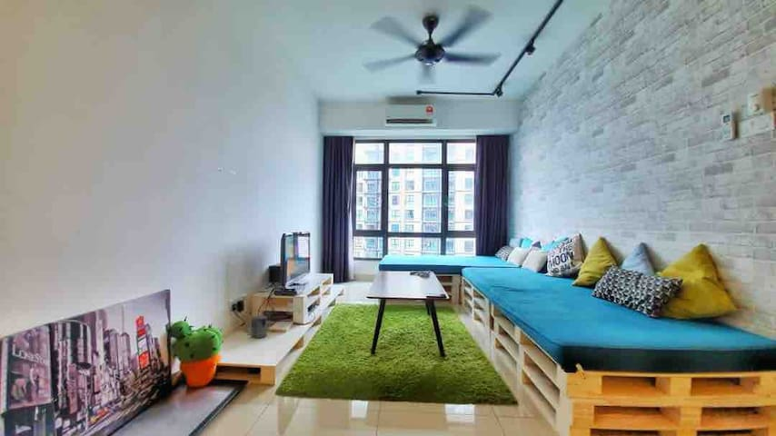 Old Klang Road Cozy & Stylish 2 Bed Rooms
