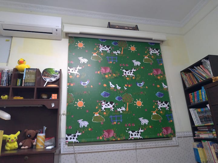 岡山捷運Lovely room with A/C