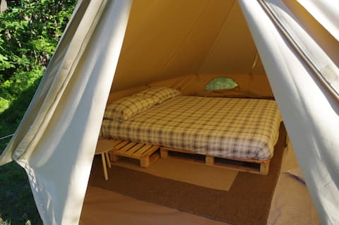 Glamping Experience in a Ligurian Natural Park