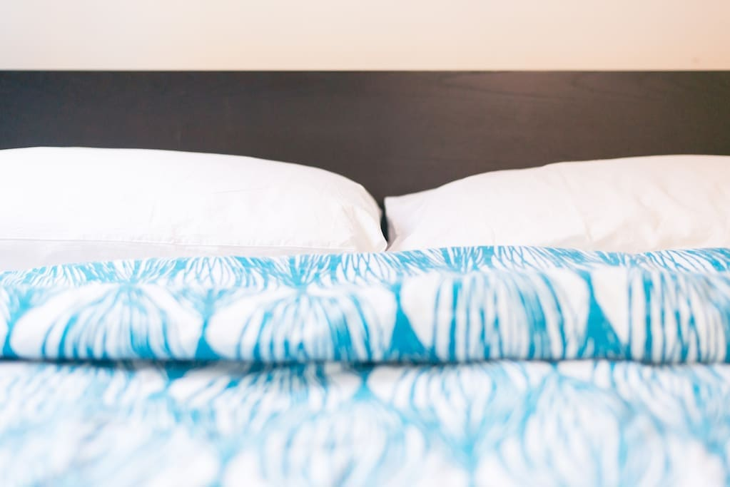 Comfy linens!