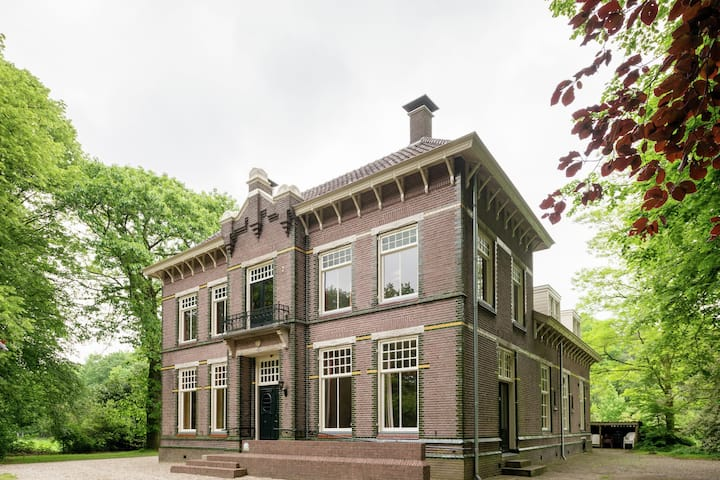 Commodious Mansion in De Schiphorst with Garden