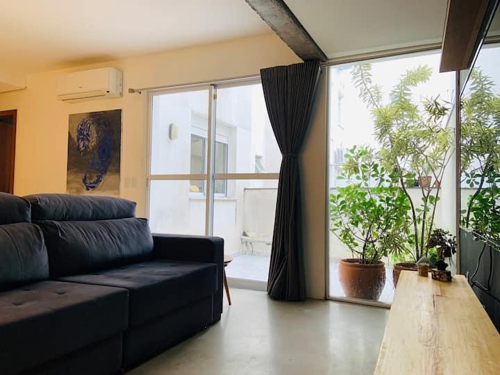 Apartamento com Garden no Coração de Porto Alegre