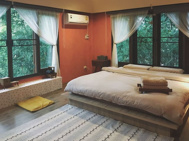 【Mountain See】living in forest/two bedroom suite