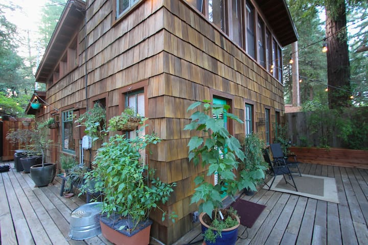 Front and side decks
