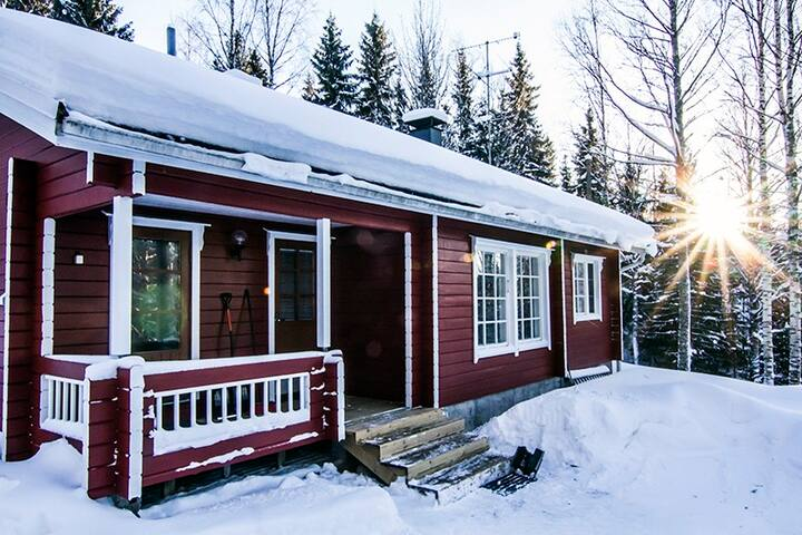 Holiday cottage 12km from Kajaani