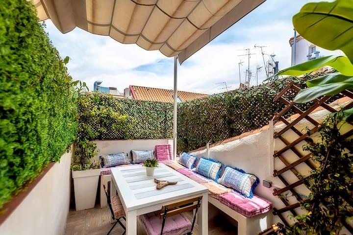 Penthouse -  loft  Fuencarral Street (terrace)