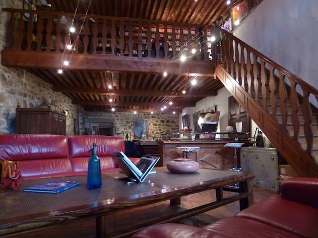 Vaste demeure de caractère et de charme - Montpeyroux - House