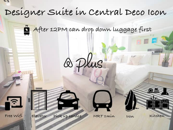 Designer Suite in Central Deco Icon