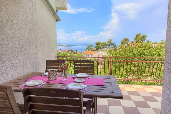Apartment Malinska, island Krk