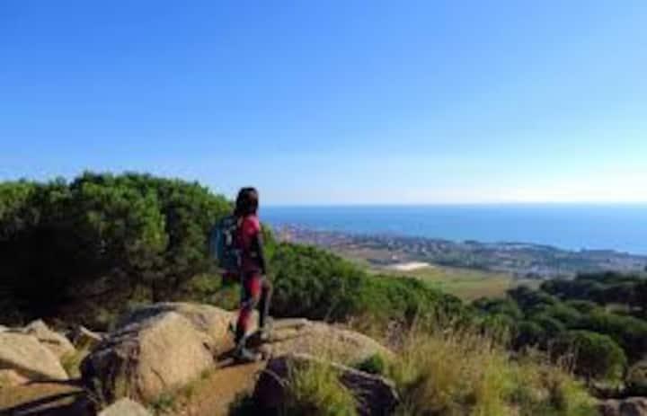 1 Habitación entre Mar y Montaña cerca Barcelona-