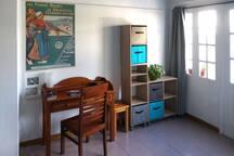 Salon/Chambre du bas