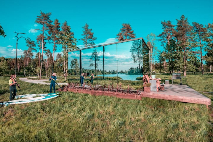 ÖÖD Hötels Jõeranna-cozy hotel with sauna and lake