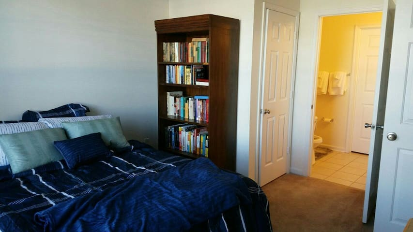 Cozy, Private Room Near University City Area - Charlotte - Apartament
