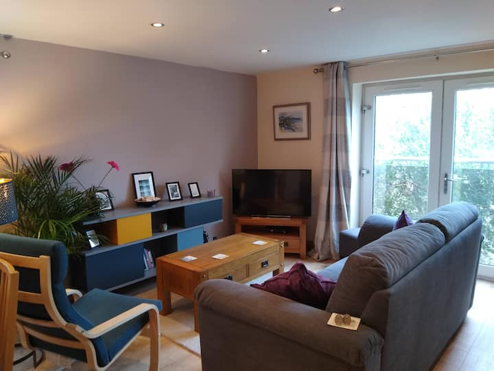 Modern 1 bedroom open plan apartment in Old Colwyn