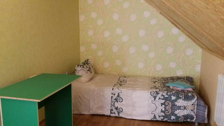 Cozy room in private house close to Boryspil-Kiev
