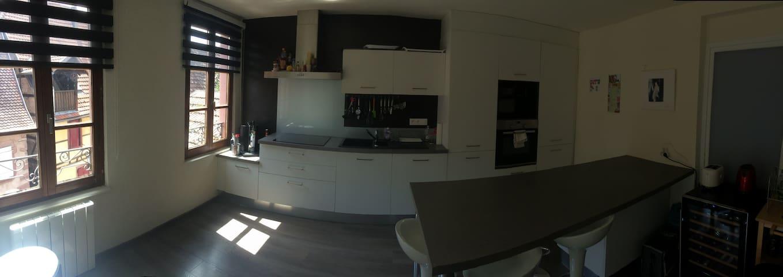 Coquet appartement sur la route des vins