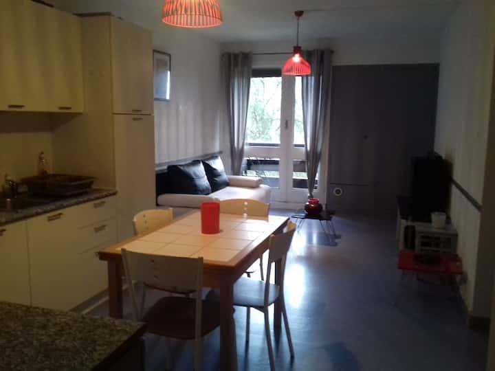 Agréable appartement avec vue sur Laruns