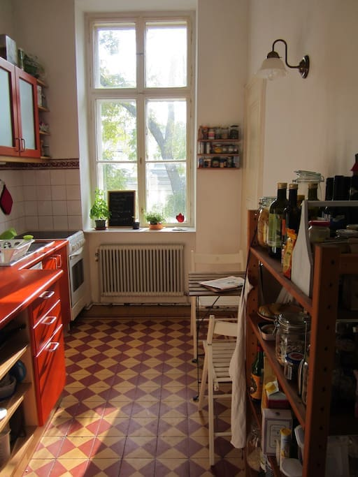 Our kitchen, fully equipped