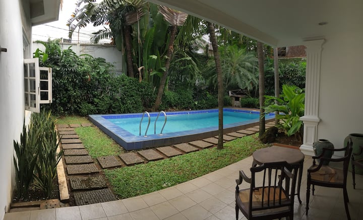 Room #2 for rent in a homey South Jakarta House