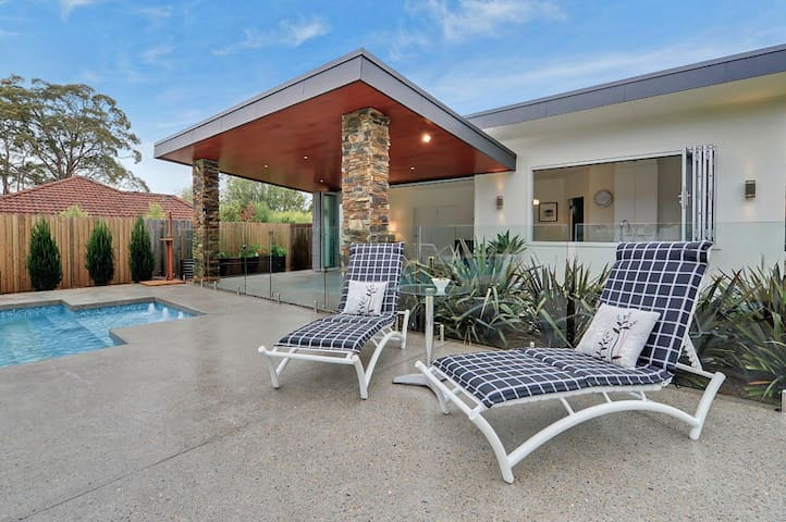 Modern luxurious self contained Guesthouse. - Berowra - Guesthouse