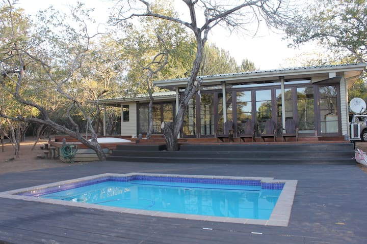 Khangela Private Game Lodge - Self-catering