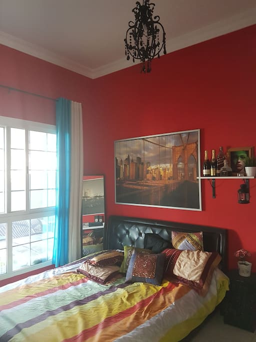 private Red Bedroom
